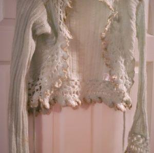 kenzie Sweaters - Pattern tie up long sleeve texture cardigans